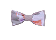 Handmade Colorful Bow Tie Isolated On White Background. Red, Green, Blue, Yellow, Magenta, Purple Colors. Royalty Free Stock Photo