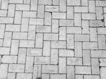 Handmade concrete floor tile Stock Photography