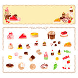 Handmade confectionery Royalty Free Stock Photos