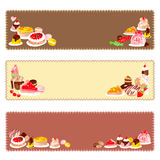 Handmade confectionery Stock Image