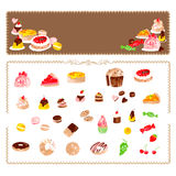 Handmade confectionery Royalty Free Stock Photography