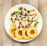 Handmade cookies Royalty Free Stock Photos