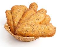 Handmade cookies. Isolated on white Stock Image