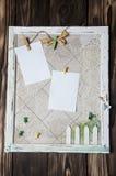Handmade cork board Stock Photography