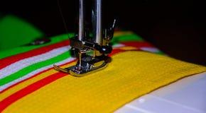 handmade Costura da mão Imagens de Stock