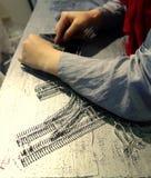 Handmade craft artist Royalty Free Stock Photo