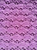 Handmade crochet texture background Royalty Free Stock Photo