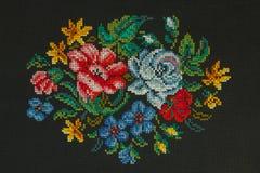 Handmade cross-stitch Royalty Free Stock Image
