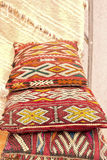 Handmade cushions, Morocco Stock Photography