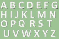Handmade 3D letter Stock Images