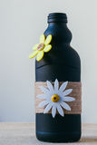 Handmade decorated bottle Royalty Free Stock Images