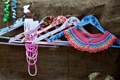Free Handmade Decorated Hangers Royalty Free Stock Image - 42278126