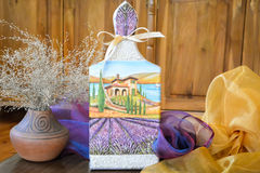 Handmade decoration lavender Royalty Free Stock Image
