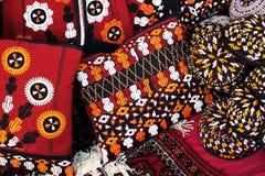 Handmade decorative bags Royalty Free Stock Image