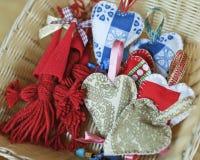 Handmade dekoracje fotografia stock