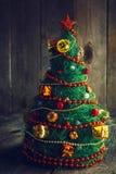 Handmade dekoracyjna choinka Obrazy Stock