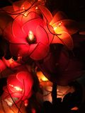 Decorative lamp flower craft handmad stock photography