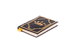Handmade diary with crown cover. Royalty Free Stock Images