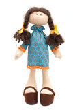 Handmade doll Stock Photography