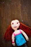 Handmade doll Stock Photo