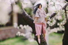 A handmade doll Stock Photo