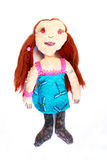 Handmade doll Royalty Free Stock Photos