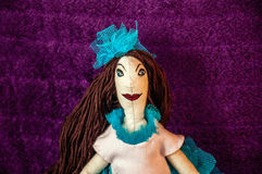 Handmade doll Royalty Free Stock Photo