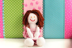 Handmade doll Stock Image