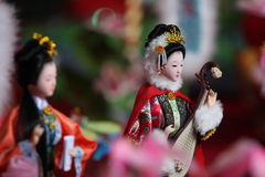 Handmade dolls. By traditional skill(the Intangible Cultural Heritage of Guangzhou,China),for the celebration in the double seventh festival(Chinese valentine's Stock Photos