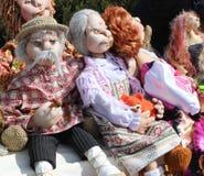 Handmade dolls Royalty Free Stock Image