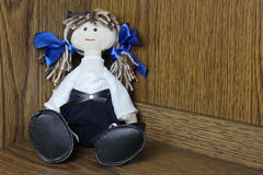 Handmade dolls Royalty Free Stock Images