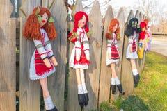 Handmade dolls Royalty Free Stock Images