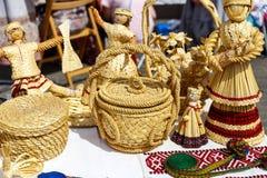 Handmade dolls Stock Photos