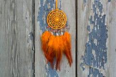 Handmade dream catcher with feathers threads and beads rope hanging. Dream catcher with feathers threads and beads rope hanging. Dreamcatcher handmade, dream stock photos