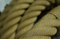 Handmade Dutch rope Royalty Free Stock Photography