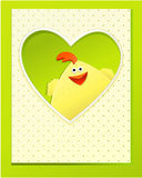 Handmade Easter card Royalty Free Stock Photography