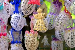 Handmade Easter decoration in Slovakia Stock Photos