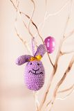 Handmade easter decorations Royalty Free Stock Photos