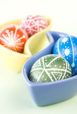 Handmade Easter Eggs Royalty Free Stock Image
