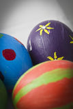 Handmade easter eggs Royalty Free Stock Photo