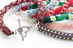 Handmade Elegant Jewelry Stock Image