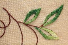 Handmade embroidery Stock Photography