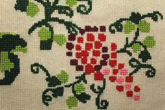 Handmade embroidery Stock Photography