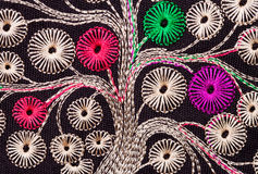 Handmade embroidery Royalty Free Stock Images