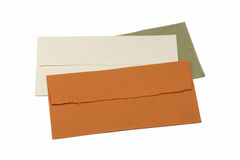 Handmade envelopes Stock Photos