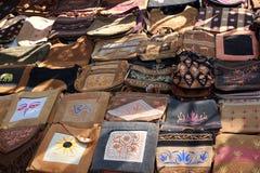Handmade Ethnic Bags Stock Photo