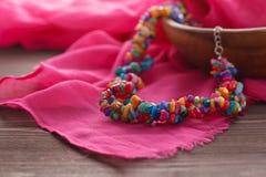 Handmade ethnic nepal jewellery Stock Photos