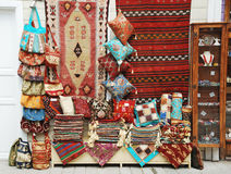 Handmade Fabric Items in Turkey Stock Image