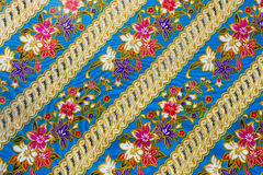 Handmade fabric weave Stock Photo