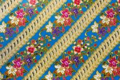 Handmade fabric weave. Closeup pattern texture of general traditional thai style native handmade fabric weave Stock Photo